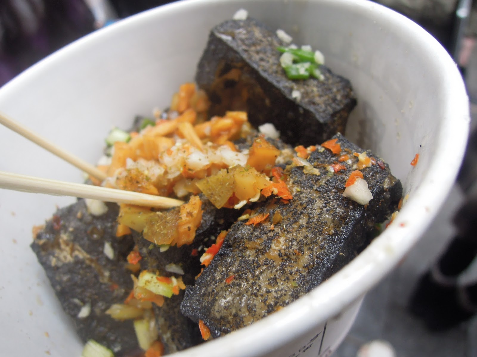 Field Guide to Chinese Street Food: Stinky Tofu