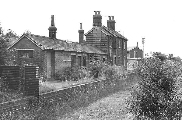 Derelict Fort Brockhurst station 1975