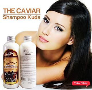 Caviar shampoo terbaik atasi kerontokan