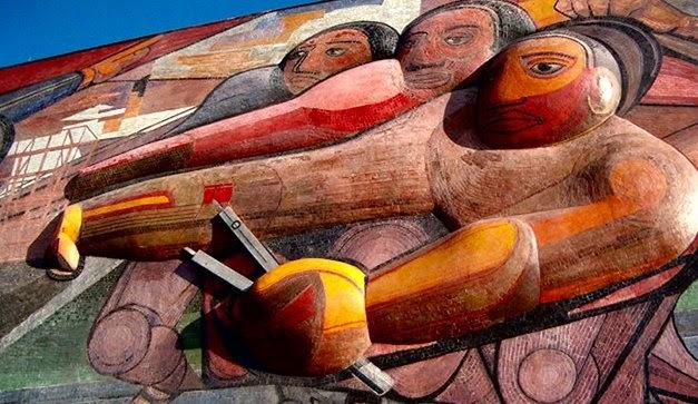 La espina roja el pueblo a la universidad la for El mural de siqueiros pelicula