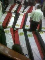 جنازة عسكرية غدا لشهداء أحداث رفح من آل رشدان