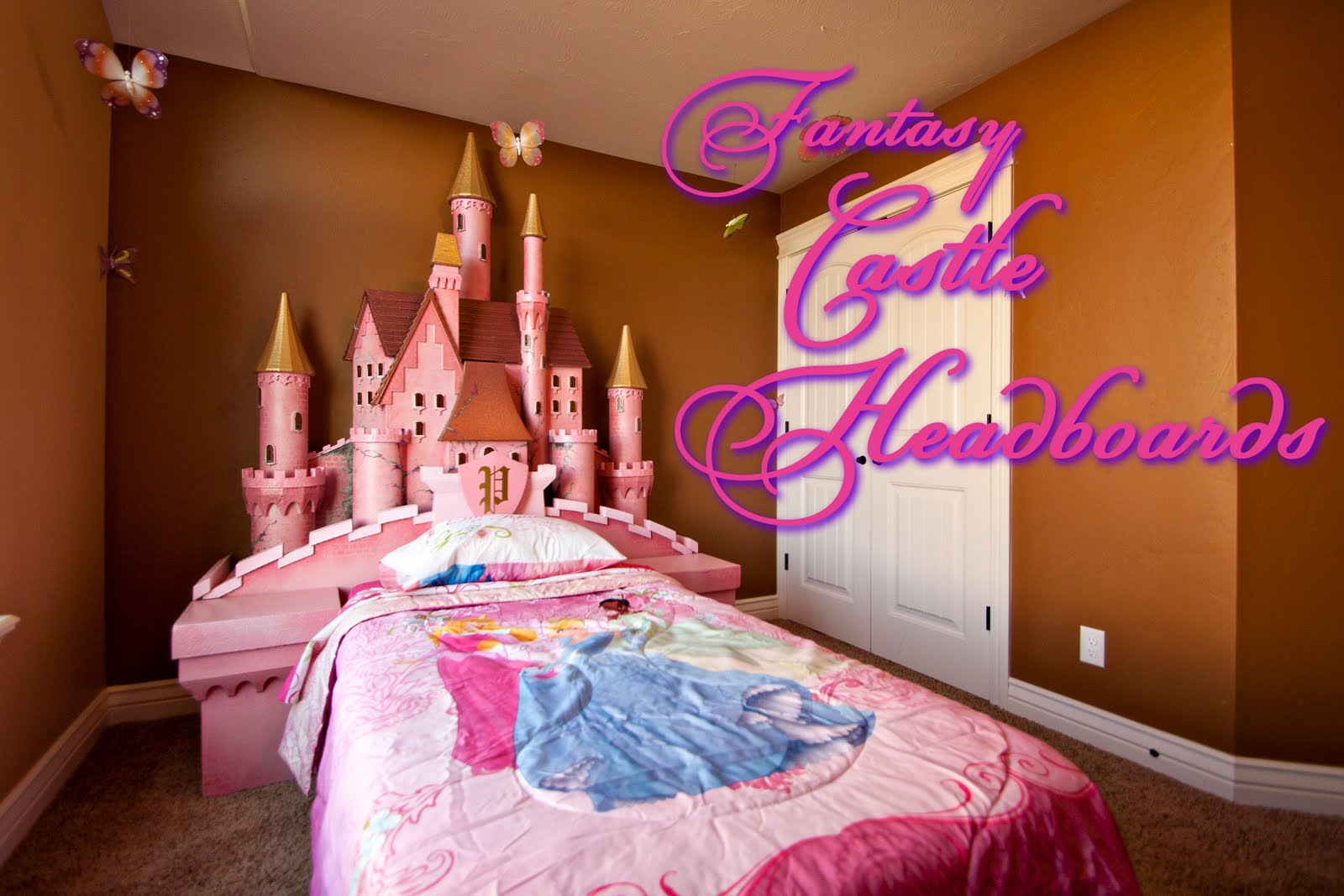 Princess Headboard Full Size Bed