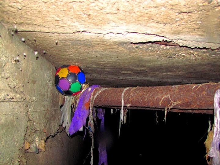 Мяч в подземелье