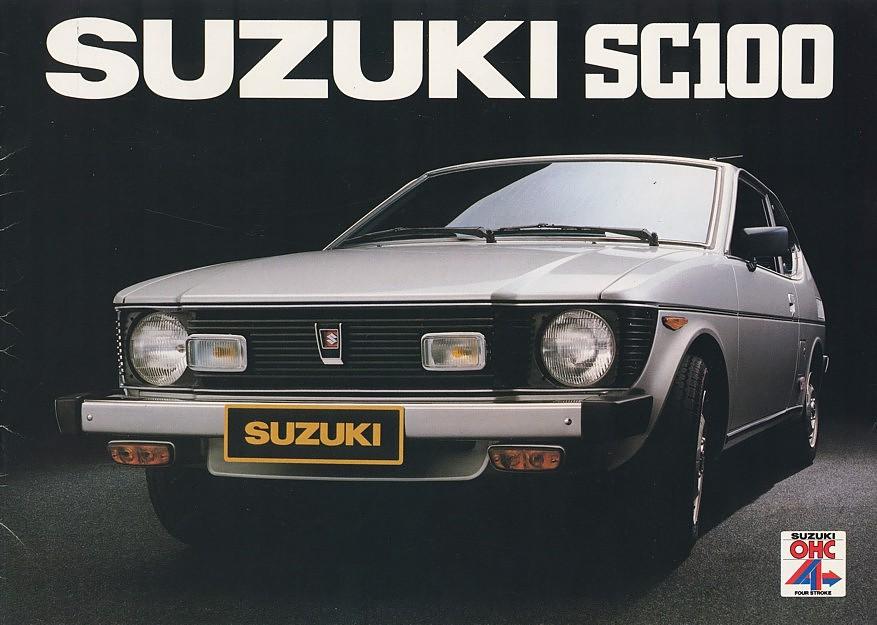 unikalne klasyki, jaki kupić stary samochód, suzuki sc100, napęd na tył, silnik umieszczony z tyłu, R3, RR, kei car, zdjęcia