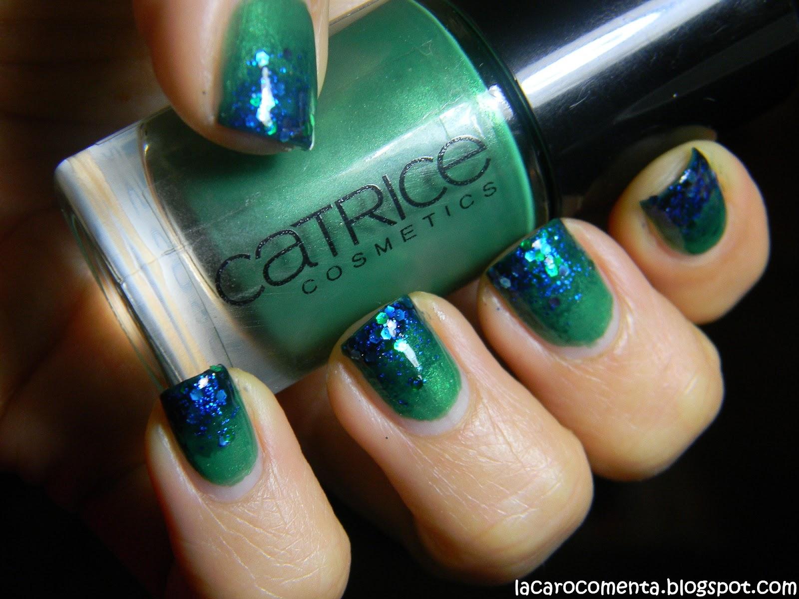 La Caro comenta: Tutorial - Gradientes de uñas!