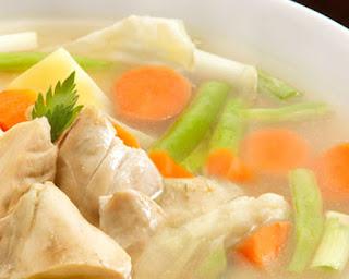 cara memasak sup ayam