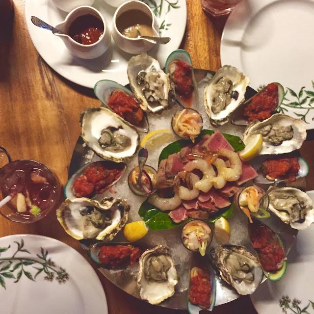 Seafood Platter at Los Indios Bravos Boracay