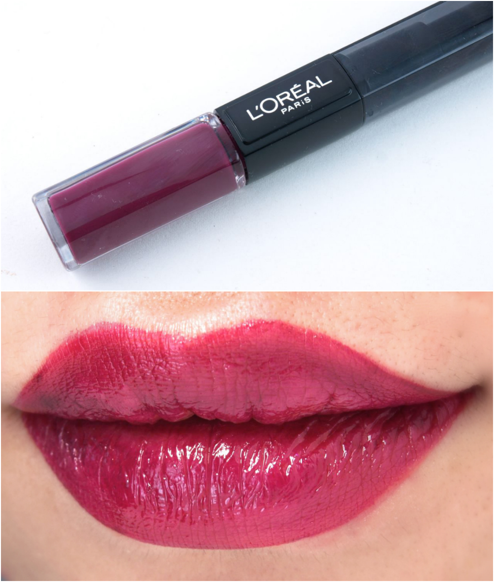 L'Oreal Infallible 2-Step Lipcolor: Review and Swatches Raisin Revival