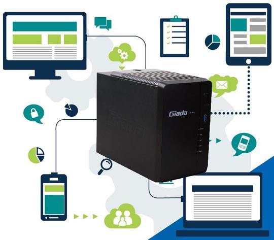 GIADA GT200 Micro Server