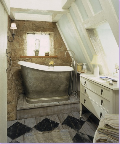 Modern Country Style The Holiday Houses Bathrooms