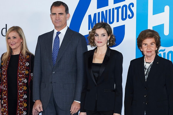 Spanish Royals Attended '20 Minutos' Newspaper 15th Anniversary