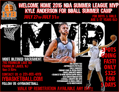 HOME OF THE BLAZE BASKETBALL CLUB: Kyle Anderson 5 Day Camp
