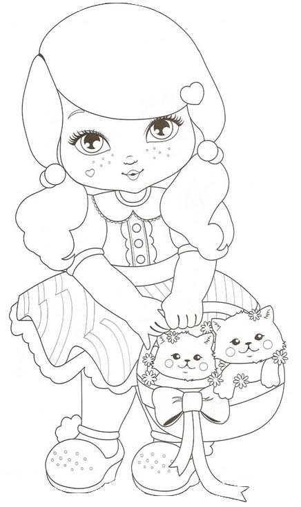 imagens para colorir jolie - Fazendo a Nossa Festa Colorir Jolie Livrinho de