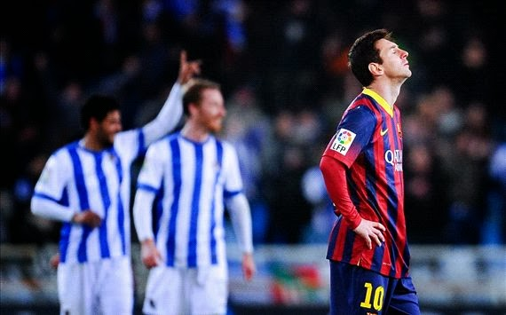 أهداف مباراة برشلونة و ريال سوسيداد 1-3