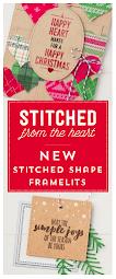 stitched shape framelits