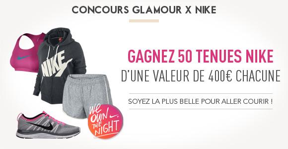 50 tenues femmes Nike
