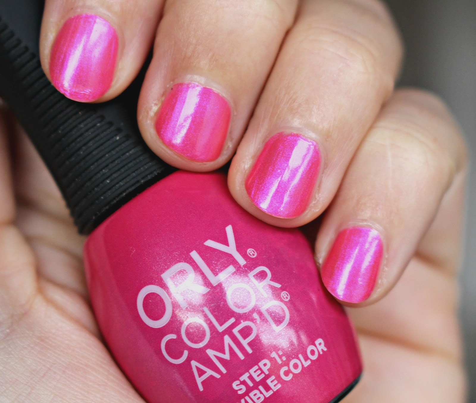 Orly Color Amp'D Who You Know