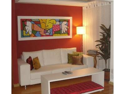 como decorar sua sala com quadros