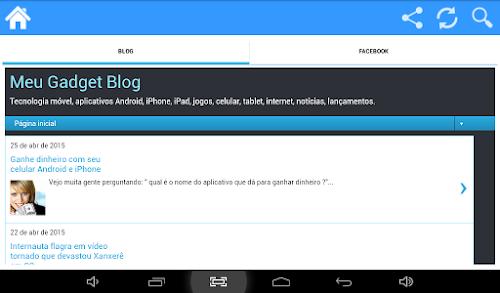 Aplicativo do Meu Gadget Blog é lançado para Android