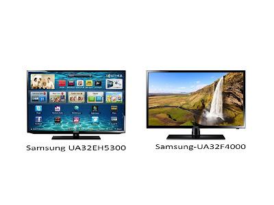 Perbedaan Tv Led Samsung UA32EH5300 dan Samsung UA32F4000 32 Inch