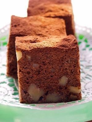 Torta de chocolate con nueces