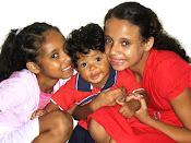 Stephany,Talyta e Natã