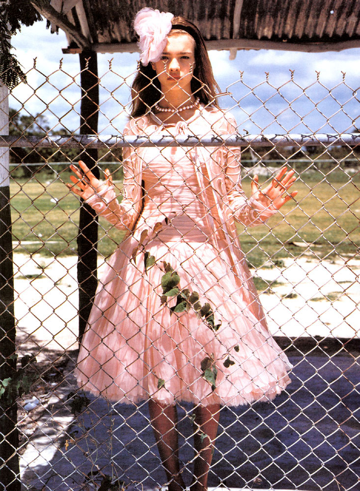 via fashioned by love | Natalia Vodianova by Bruce Weber for W July 2002