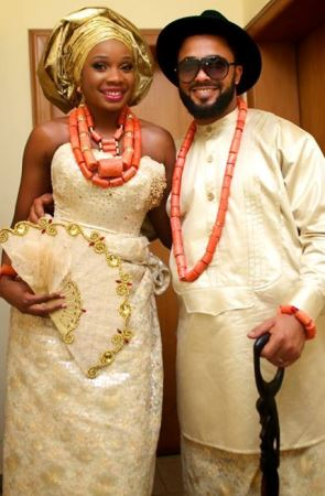 Questionmark boss, Kevin Lucciano-Gabriel shares pictures of wedding to Mariah Mogoli (PHOTOS)