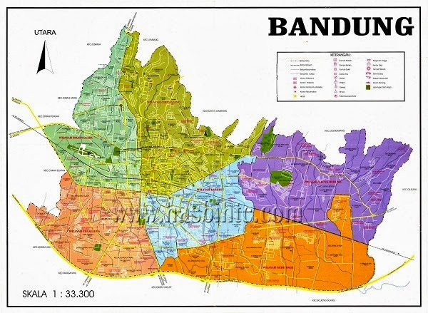 Daftar Nama Tempat Wisata Terbaik di Bandung