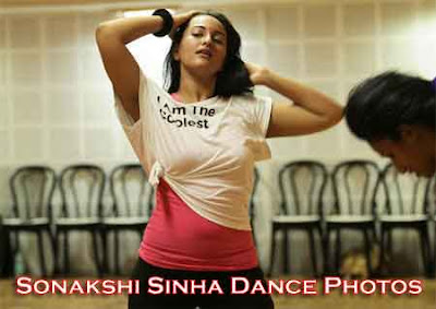 Sonakshi Sinha Hot pose photos in T Shirt