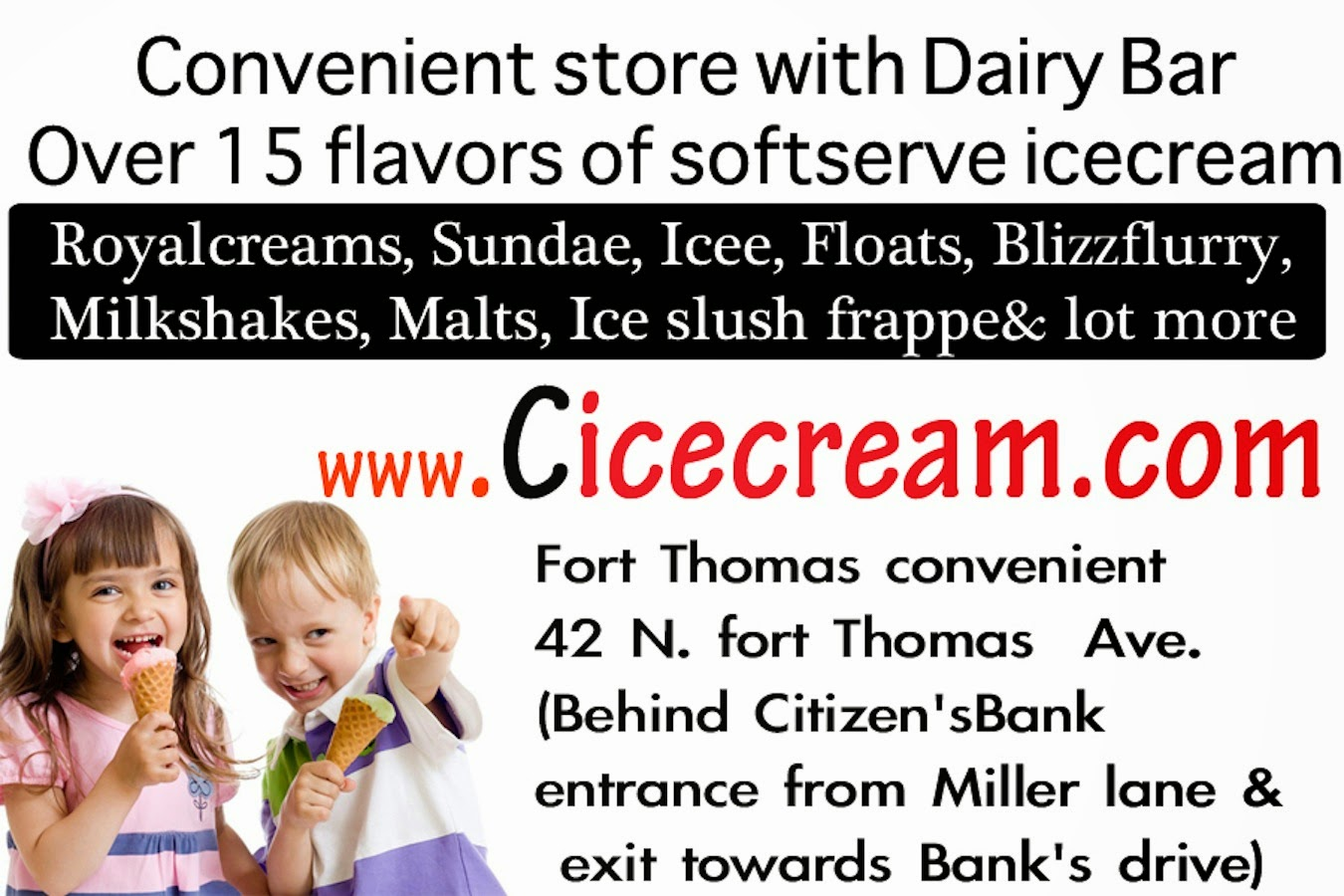 NEW! Convenient Dairy Bar