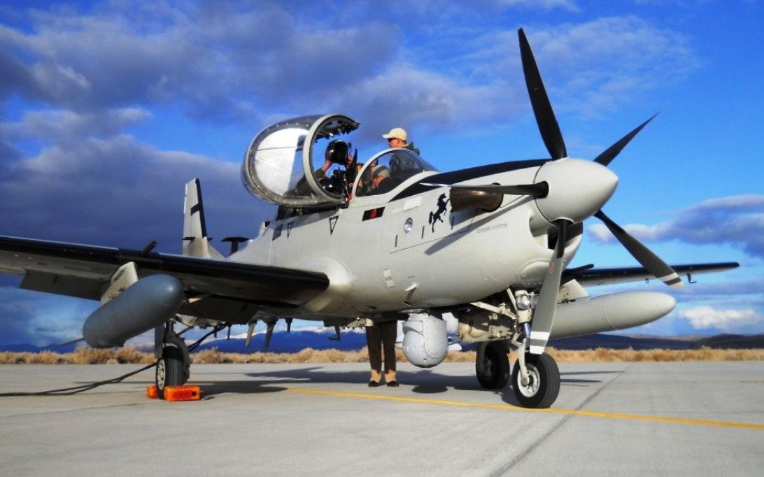 A-29 Super Tucano Aircraft Wallpaper 4