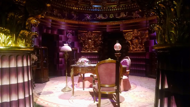 Dolores Umbridge's Office from the Harry Potter Set, on display at the Warner Bros. London Studio