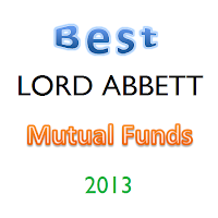 Top 23 Lord Abbett Mutual Funds 2013