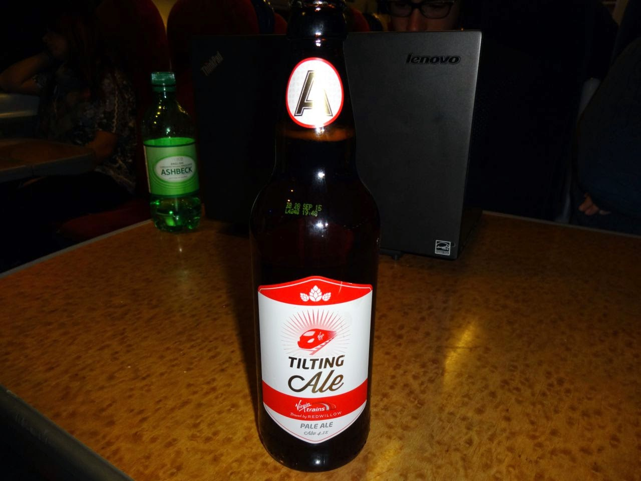 Bottle Of Tilting Ale