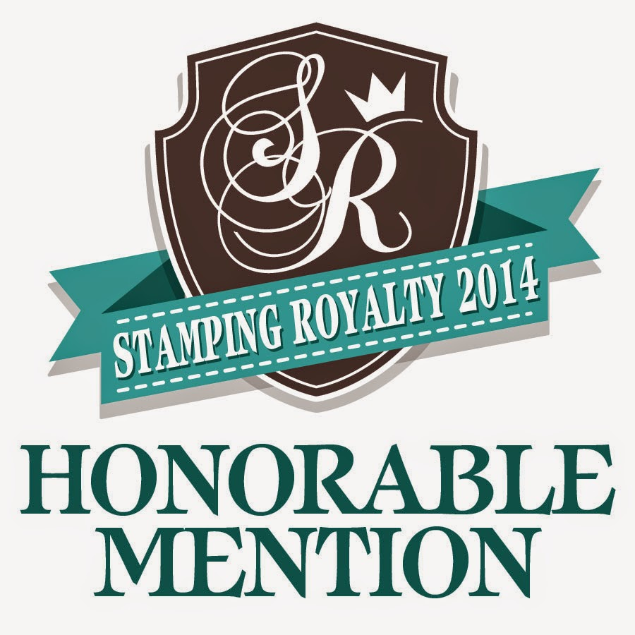 Honered to be a Paper Crafts Magazine Stamping Royalty Honorable Mention winner!