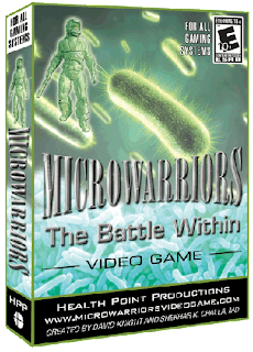 Microwarriors Battle Game Case