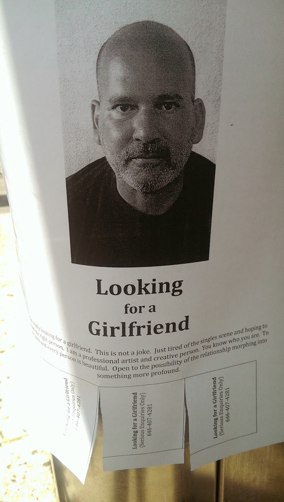 Artist looking for girlfriend in Chelsea NYC
