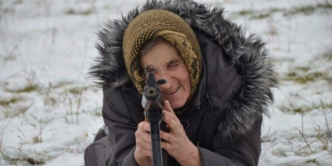 Nenek 68 tahun berjuluk 'The Punisher'