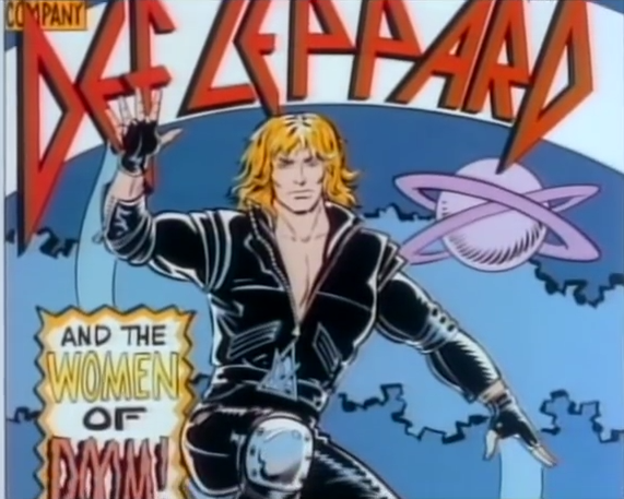 Def leppard and the women of doom