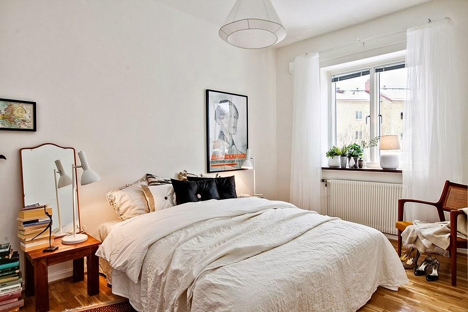 amenajari, interioare, decoratiuni, decor, design interior, apartament 2 camere, stil scandinav, dormitor