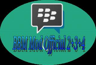 Instal BBM, BBM2, BBM3, BBM4 v 2.9.0.45 Apk + Gratis Stiker