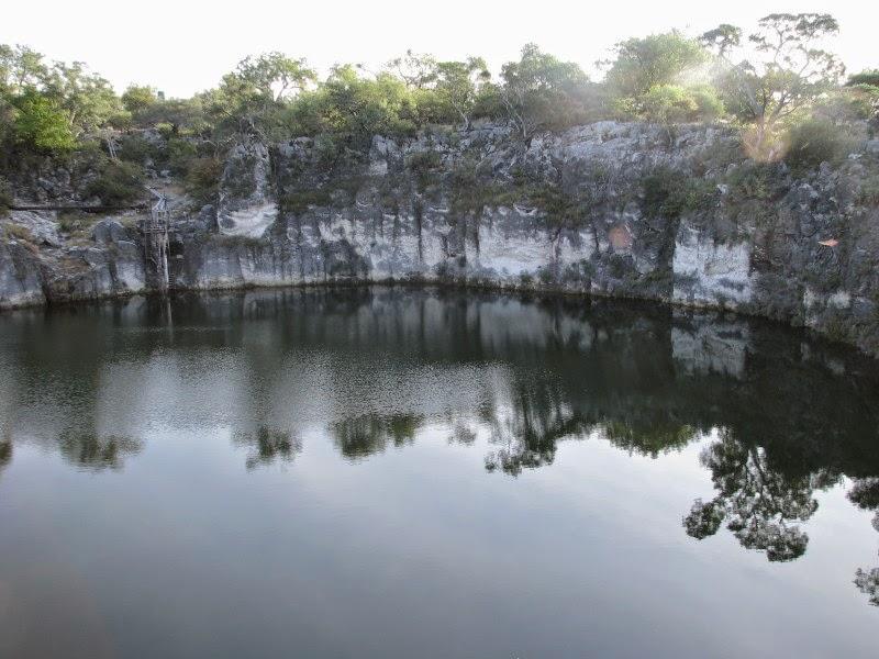 Lake Otjikoto (near Tsumeb)