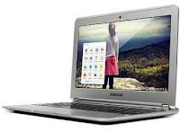 Samsung Chromebook: Chrome OS e processador ARM.