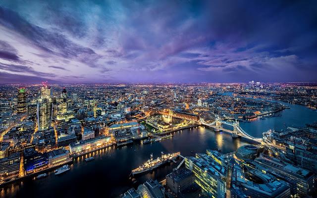 倫敦市容 泰晤士河