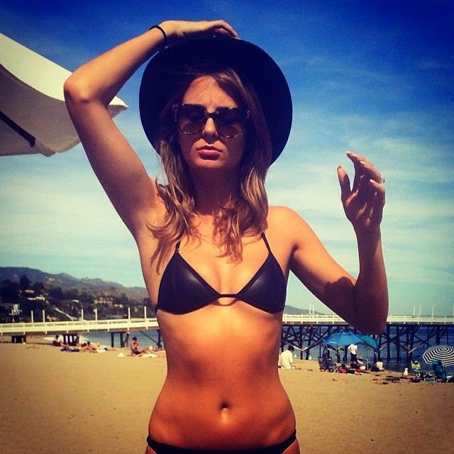 Millie Mackintosh shares her great Bikini body into Instagram pages during her vacation on Thursday, May 1, 2014 at Malibu