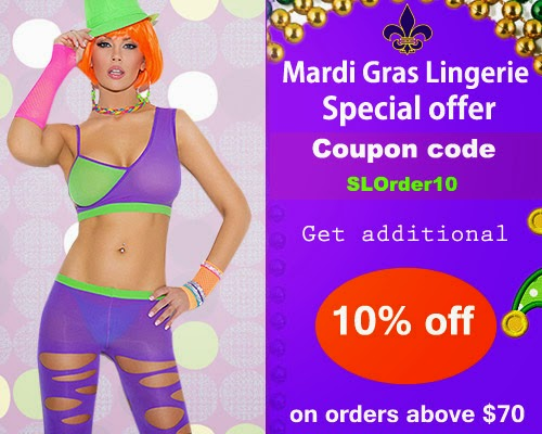 Mardi Gras Lingerie Offer