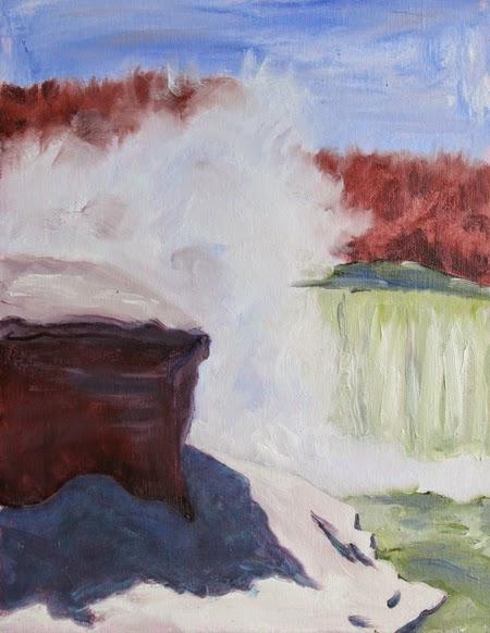 Kathy Schifano, NIagara Falls art, artist, Castellani Museum