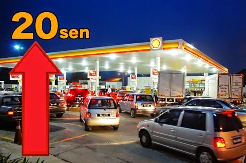 Harga-Minyak-naik-RON95-diesel