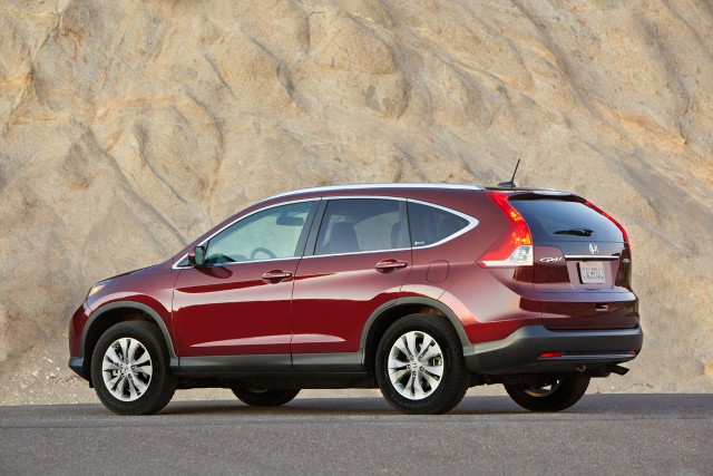 2012 honda cr-v rear side